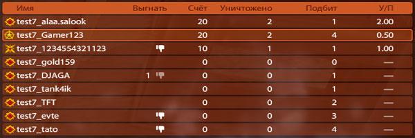Удаление (кик) из битвы танки онлайн